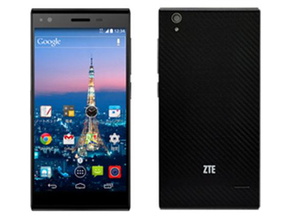 SIMフリー-ZTE/ゼットティーイー-Blade Vec 4G ブラック