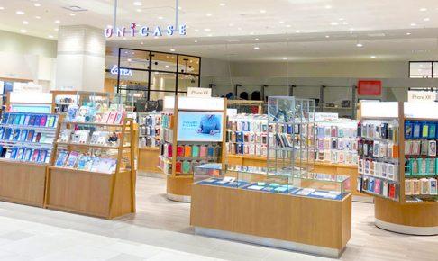 スマホステーション UNiCASE 沖縄・浦添パルコシティ店 店舗