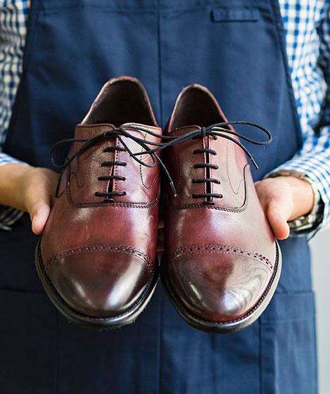 靴磨き(スマホ用)